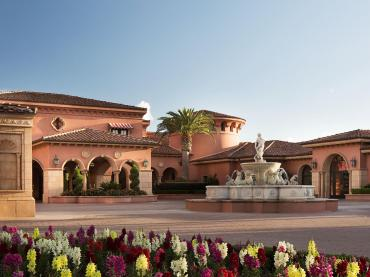 Front Entrance Of The 5-Star Fairmont Grand Del Mar Hotel In San Diego California