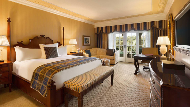 Stylish and Comfortable Room At Fairmont Grand Del Mar San Diego California