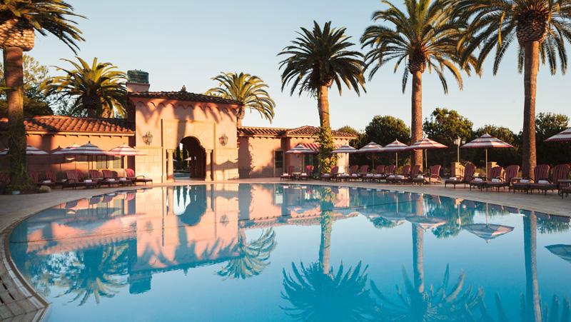 Outside Pool At Fairmont Grand Del Mar San Diego California