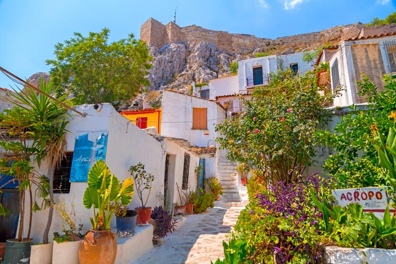 Village Of Anafiotika