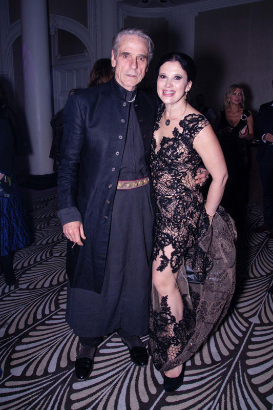 Olga Balakleets With Jeremy Irons