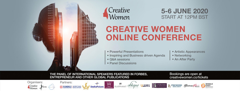 Creative Women Conference Advertising Poster