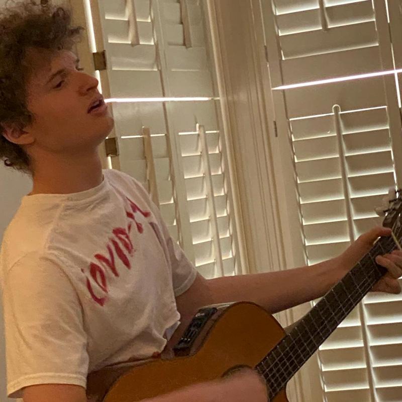 John Gallant Playing Guitar