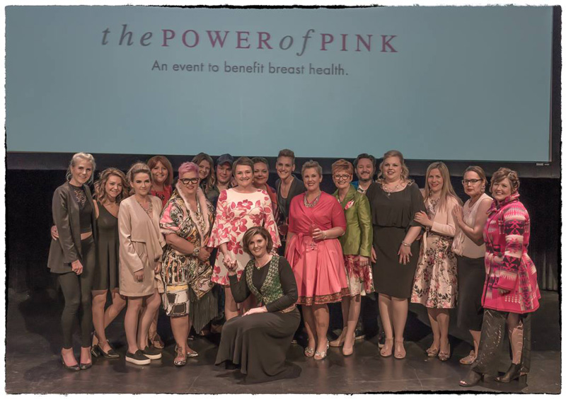 The Power Of Pink Group Photo On Stage
