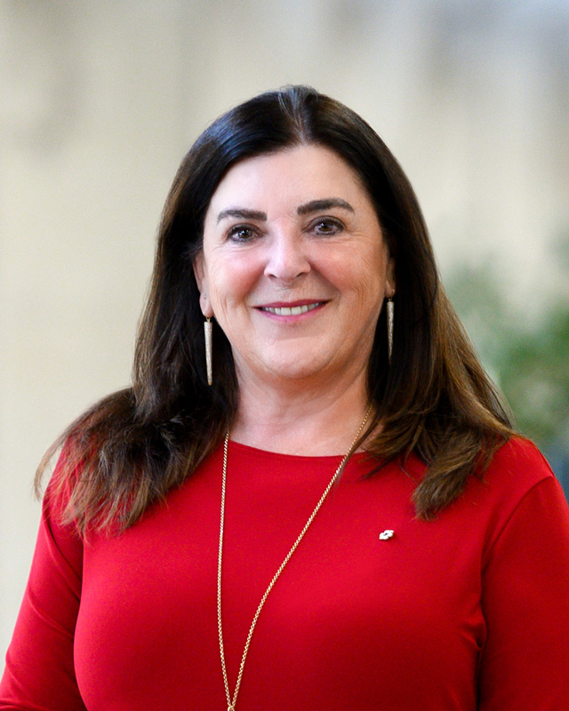 Corporate Photo Of Vianne Timmons Wearing Red Shirt